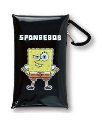 スポンジ・ボブ Sponge Bob クリアマルチケース S BK スポンジ・ボブ PVC