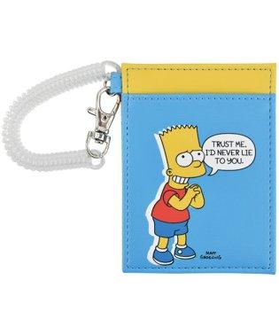 ザ シンプソンズ The Simpsons シングルパスケース バート ファミリー 合皮