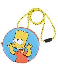 ザ シンプソンズ The Simpsons ラウンドネックパース バート ファミリー 合皮