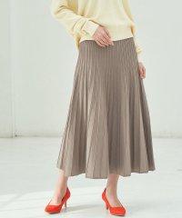 【WEB限定】プリーツニットスカート