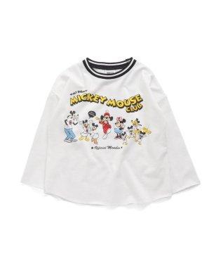 ネット限定 ディズニーキャラクター マウスクラブTシャツ