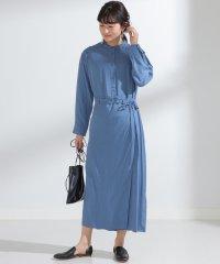 Ray BEAMS / ラップ スカート シャツ ワンピース