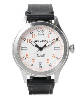 JACK MASON / Rescue Orange AVIATION JM-A401-005 JAPAN LIMITED EDITION 3針 ウォッチ