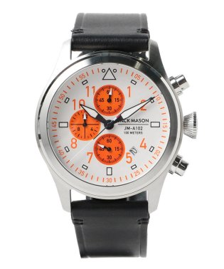 JACK MASON / Rescue Orange AVIATION JM-A102-407 JAPAN LIMITED EDITION クロノグラフ
