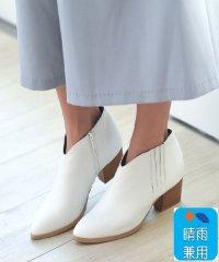 【19.5~27.0cm】ウエスタン調すっきりブーツ(5cmヒール)