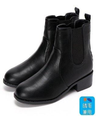 【19.5~27cm】晴雨兼用ブーツ(4.0cmヒール)