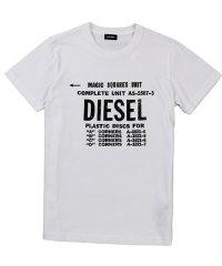 DIESEL T-DIEGO-B6 ディーゼル プリントTシャツ 00SXE6-0091A