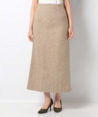 【DouDou】ヘリンボーン柄スカート