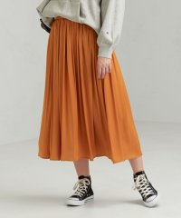 CFC サテン ギャザー スカート