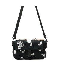 glanta グレンタ 単色フラワー刺繍お財布BAG 斜めがけ バッグ 財布 花柄 ショルダーバッグ 04071393