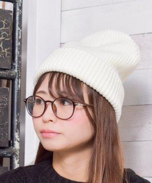 【Gl】ローゲージWニットキャップ