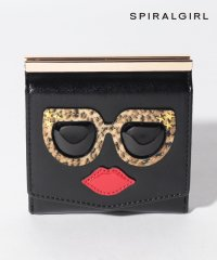 【SPIRALGIRLスパイラルガール】とぼけたフェイスがキュートな2つ折り財布