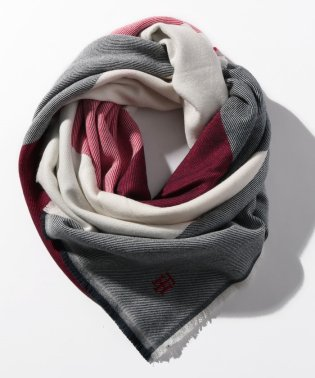 モノグラムブランケットスカーフ