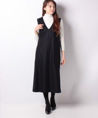 【特別提供品】ロング丈ジャンパースカート