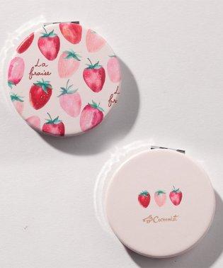 イチゴコンパクトミラー