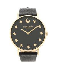 コーチ 時計 レディース COACH 14503042 PERRY ペリー レディース腕時計ウォッチ ブラック/イエローゴールド