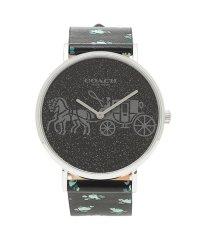 コーチ 時計 COACH 14503048 PERRY ペリー フラワー 花柄 36MM レディース腕時計ウォッチ ブラック/マルチカラー