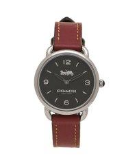 コーチ 時計 COACH 14502792 W1249 DELANCEY SLIM デランシースリム レディース腕時計ウォッチ チェリーレッドブラウン/シルバー