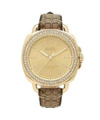 コーチ 時計 COACH 14502770 TATUM テイタム シグネチャー レディース腕時計ウォッチ カーキー/イエローゴールド