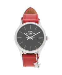 コーチ 時計 アウトレット COACH W1549 RD/BK レディース腕時計ウォッチ レッド/ブラック/シルバー