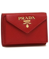 プラダ 財布 PRADA 1MH021 QWA F068Z SAFFIANO METAL ORO サフィアーノ ミニ財布 レディース 三つ折り財布 無地 FUO
