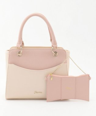 【mamagirl掲載】リボンポーチ付き2WAYショルダー バッグ