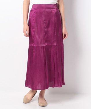 【every very nice claup】オーロラサテンマーメイドスカート