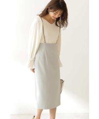 ◆サスペンダータイトスカート