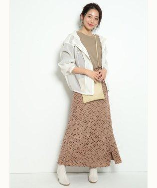 サテンスカート