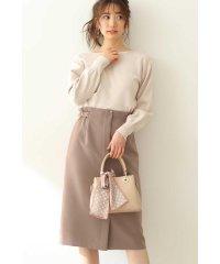 ◆サイドベルトタイトスカート