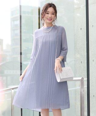 ≪結婚式 二次会 パーティー≫ヨーク切替プリーツドレス