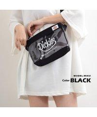 ディッキーズ Dickies クリアバッグ サコッシュ メンズ レディース 韓国 ファッション 秋 冬 スマイル ポーチ ミニバッグ バック bag お揃い バ