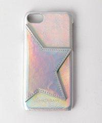 <Hashibami>レザースターミラー iPhone 7/8カバー