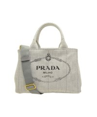 プラダ PRADA バッグ トートバッグ 2way 1bg439 カナパ CANAPA MINI キャンバス ブランド  ホワイトデニム