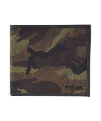 プラダ PRADA 財布 二つ折り メンズ ナイロン カモフラージュ 迷彩 2MO738 アウトレット