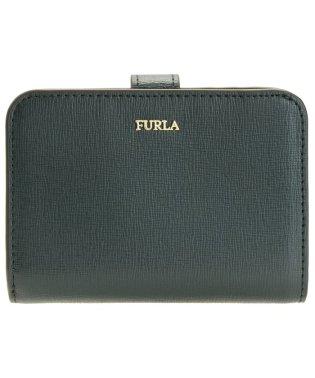 フルラ FURLA 財布 折財布 二つ折り BABYLON S ZIP バビロン レザー ブランド ティールブルー