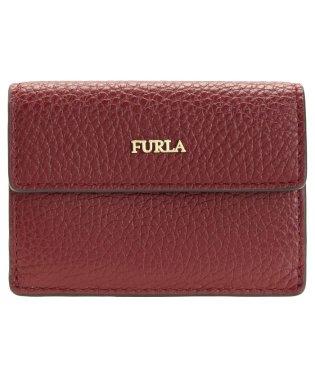 フルラ FURLA 財布 折財布 二つ折り ミニ レザー バビロン BABYLON XL BI-FOLD アウトレット チェリーレッド