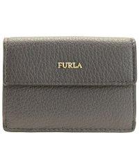 フルラ FURLA 財布 折財布 二つ折り ミニ レザー バビロン BABYLON XL BI-FOLD アウトレット アスファルトグレー