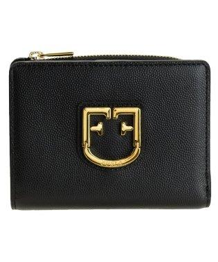 フルラ FURLA 財布 折財布 二つ折り ベルヴェデーレ BELVEDERE S BI-FOLD レザー ブラック