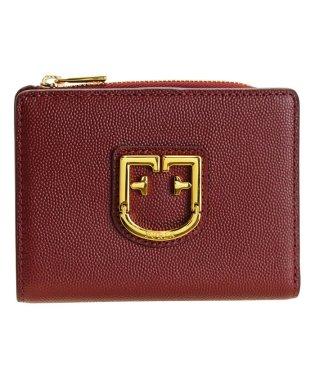 フルラ FURLA 財布 折財布 二つ折り ベルヴェデーレ BELVEDERE S BI-FOLD レザー チェリーレッド