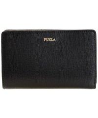 フルラ FURLA 財布 折財布 二つ折り BABYLON M BI-FOLD バビロン レザー ブランド ブラック
