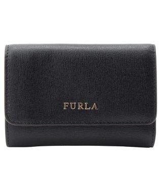 フルラ FURLA 財布 折財布 三つ折り ミニ バビロン BABYLON S TRIFOLD レザー  ブラック