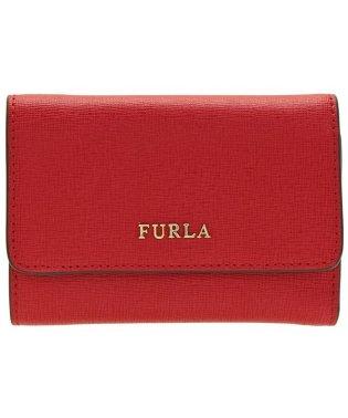 フルラ FURLA 財布 折財布 三つ折り ミニ バビロン BABYLON S TRIFOLD レザー ルビーレッド