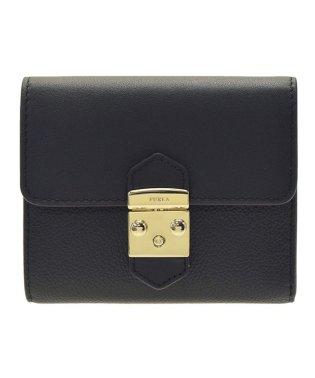 フルラ FURLA 財布 折財布 二つ折り ミニ コンパクト メトロポリス METROPOLIS S レザー PU28 ブラック