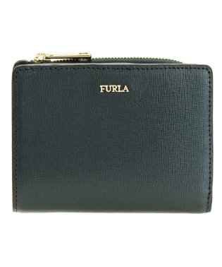 フルラ FURLA 財布 二つ折り ミニ コンパクト バビロン BABYLON S BIFOLD レザー pu75 ティールブルー