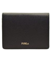 フルラ FURLA 財布 折財布 二つ折り ミニ コンパクト バビロン BABYLON S BI-FOLD レザー ブラック