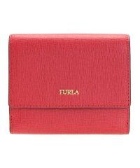 フルラ FURLA 財布 折財布 二つ折り BABYLON S バビロン レザー ブランド ルビーレッド