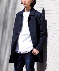 【KOMATSU / 小松】ストレッチ ステンカラーコート / スプリングコート