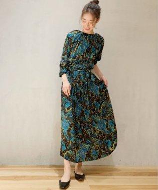 plume paisley ドレス◆