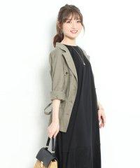【and GIRL3月号掲載】抜け衿サファリジャケット